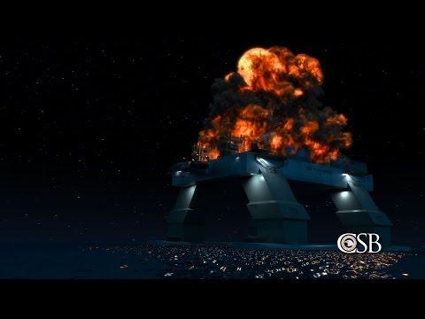 Deepwater Horizon Blowout Animation