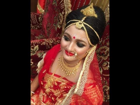 বিয়ের কনে সাজ ,Wedding makeup