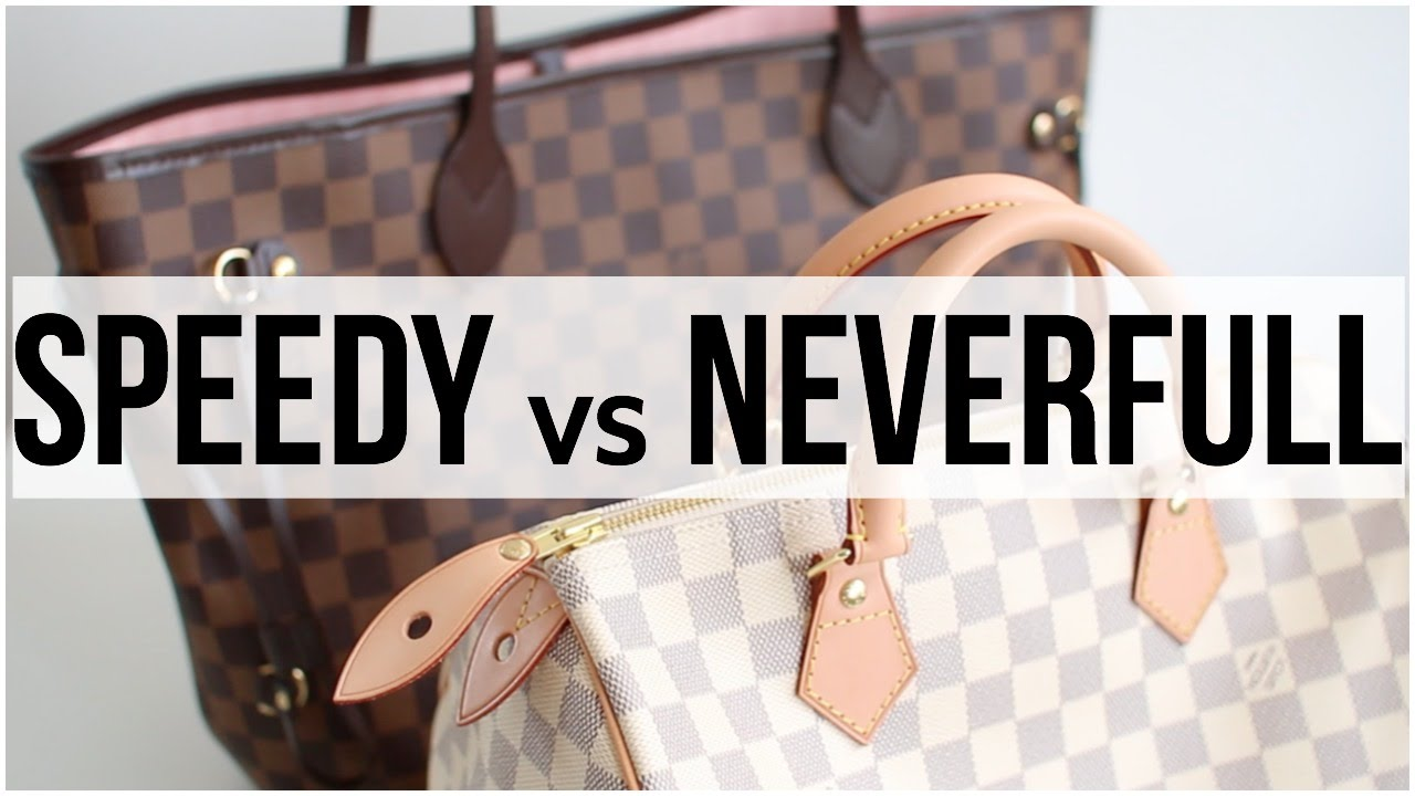 97504df4eb77 Mon premier sac Vuitton   Speedy ou Neverfull   △ lepointJenn △ - YouTube