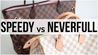 Mon premier sac Vuitton : Speedy ou Neverfull ? ▲ lepointJenn ▲