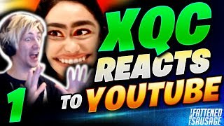 xQc REACTS To YouTube w/ Chat #1 - Cringe Dating Videos