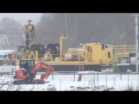 Ottawa Light Rail Construction