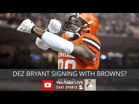 NFL Rumors, Dez Bryant Signing With Browns, & Urban Meyer Scandal News