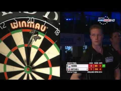 BDO England Open 2014 - Men's Final - Wesley Harms vs. Scott Mitchell
