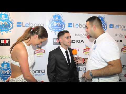 Haroon Khan Boxer UK AMA 2012 Media room interview by Jamm Media