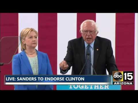 FULL: Bernie Sanders endorses Hillary Clinton in New Hampshire