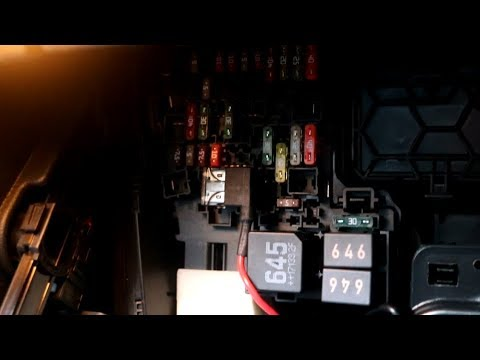 hqdefault how to access the fusebox in a vw golf mk 7 (mk vii) right hand Mk VII Shoulder Bag at bakdesigns.co