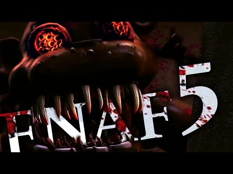 sfm fnaf five nights at freddy s 5 trailer fan made youtube