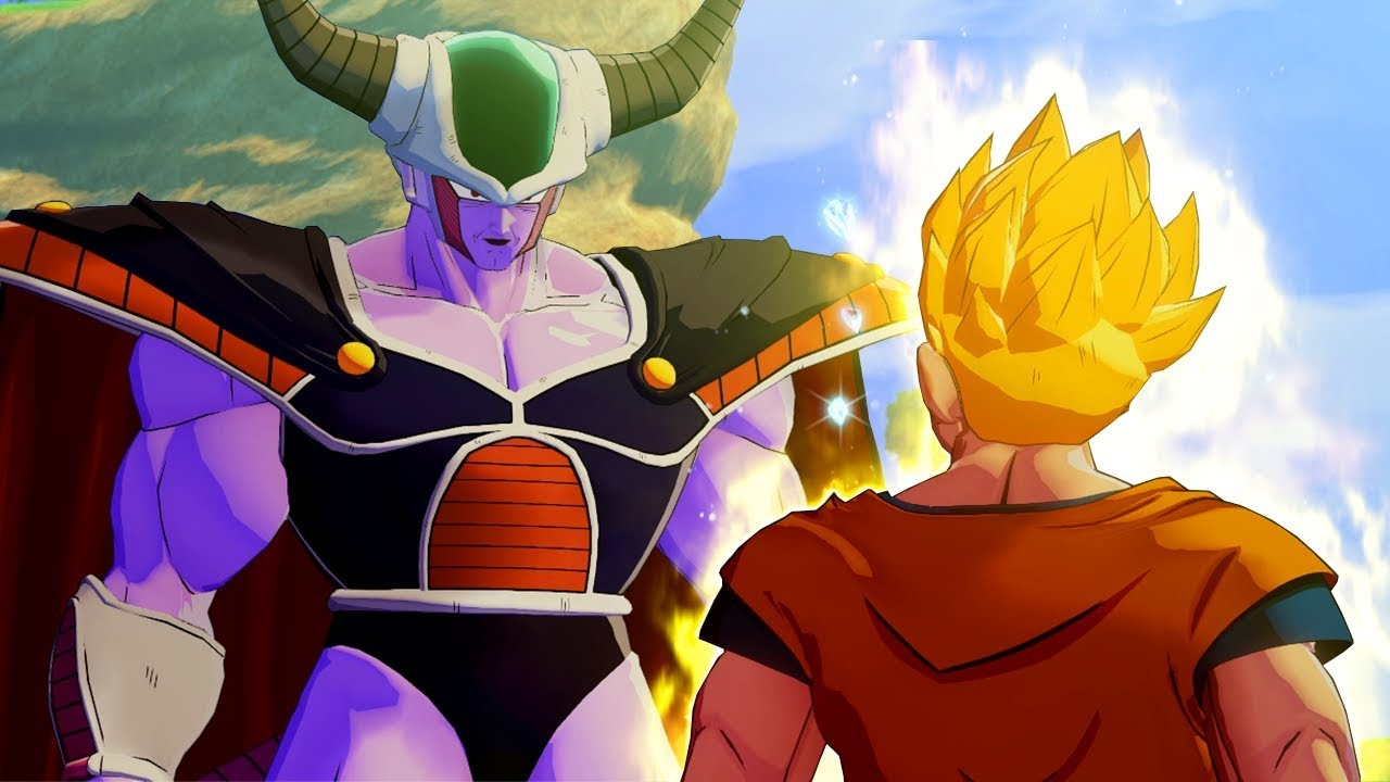 Dragon Ball Z Kakarot King Cold Is Terrified Of Gohan S Power And Becomes His Father Youtube