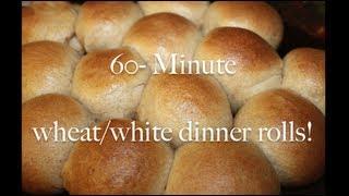 60- Minute Homemade Dinner Rolls
