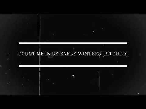 early winters - count me in