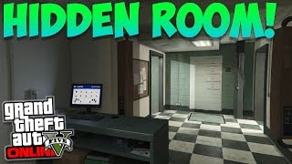 "GTA 5 Secret Locations: NEW ""Mugshot Room"" Online! Secret Underground Location ""GTA 5 Hidden Places"""