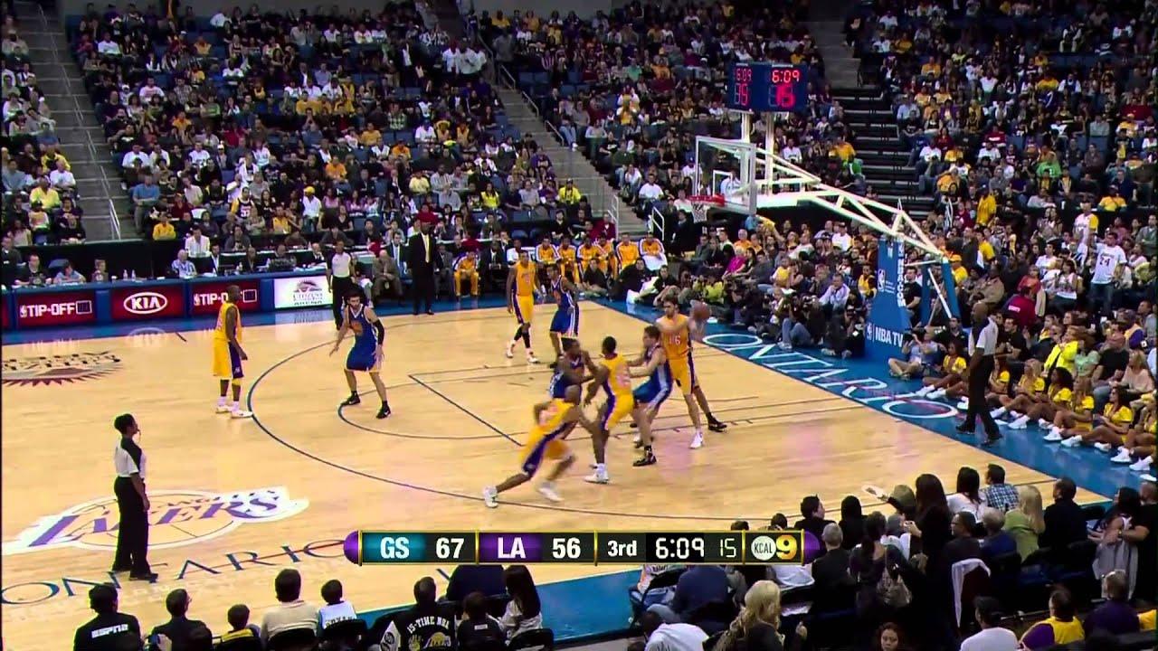 10-22-2010 | Warriors vs. Lakers | Lakers Highlights