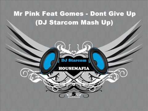 Mr Pink Feat Gomes - Dont Give Up (DJ Starcom Mash Up).wmv