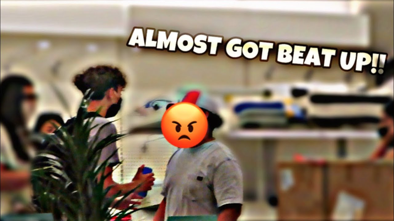 MESSING WITH PEOPLE IN PUBLIC (GONE WRONG)