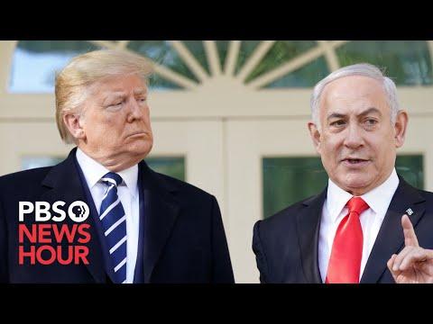 WATCH: Trump, Benjamin Netanyahu Reveal Their Mideast Peace Plan