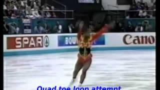 ☆ Surya Bonaly quad attempts montage ☆