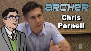 Archer Season 6 - Chris Parnell Interview - Comic-Con 2014