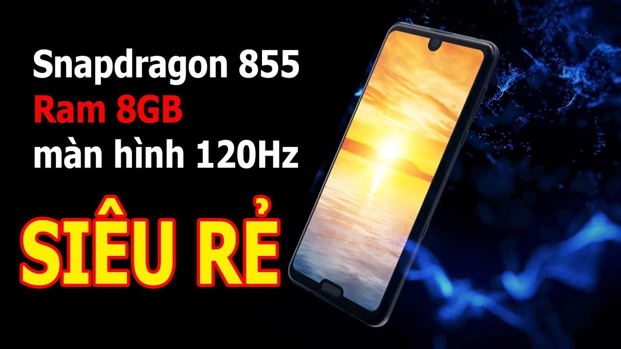 """Smartphone 2 """"tai thỏ"""" chạy Snapdragon 855, màn 120Hz giá SIÊU RẺ"""