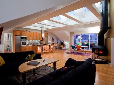 Awesome Loft Interior Design Ideas : Scandinavian Design A Modern Loft in the Attic & Awesome Loft Interior Design Ideas : Scandinavian Design A Modern ...