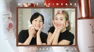 My Mom's Korean Skincare Routine (Anti-Aging)