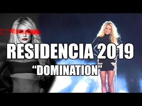 Anuncio de Britney Spears: Domination, residencia en Las Vegas 2019