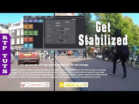Magix Movie Edit Pro 2019 - Video Stabilization Tutorial ProDAD Mercalli 2.0