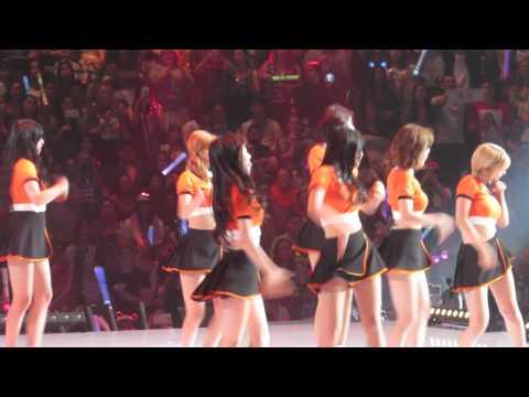 150802 AOA - 사뿐사뿐 (LIKE A CAT) @ KCON LA 2015 x M! COUNTDOWN