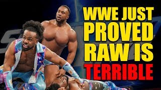 How WWE Just Proved Raw is TERRIBLE! (Why Kofi Kingston Is Out Of Wrestlemania 35)