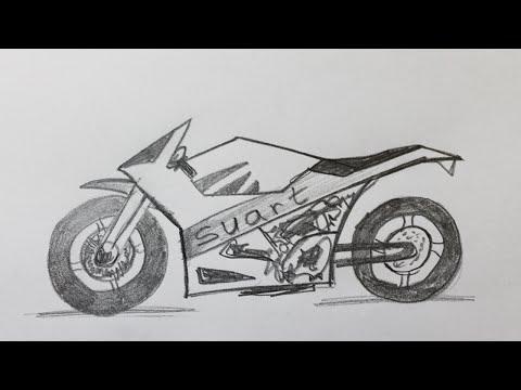 Comment dessiner une chaussure doovi - Apprendre a dessiner une moto ...