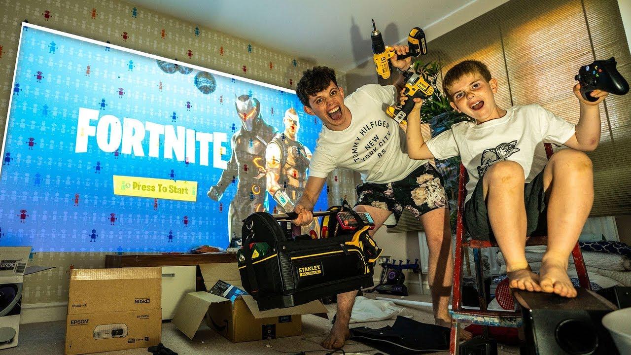 Building The Ultimate Fortnite Gaming Room Episode 1 Youtube - building the ultimate fortnite gaming room episode 1