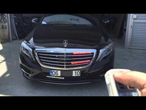 Mercedes S350 Siren Ve Led Cakar Sistem