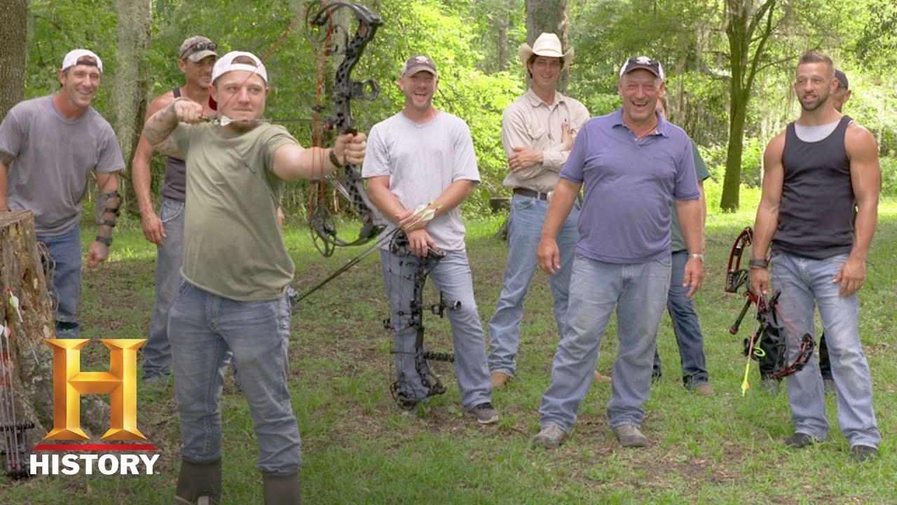 Swamp People Archery Round 1 Jay Paul Vs Holden Season 9