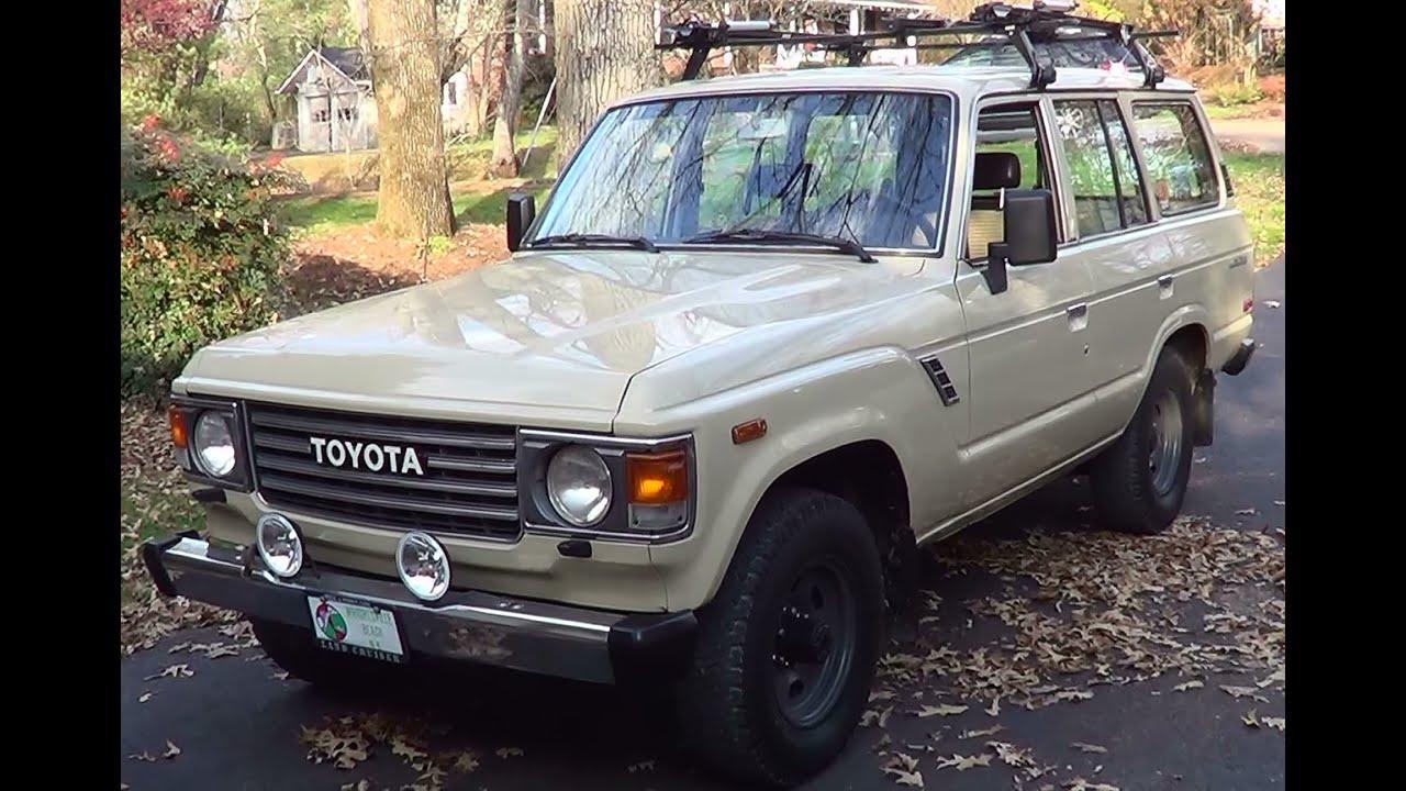 Toyota Fj40 For Sale >> 1985 Toyota Land Cruiser - YouTube
