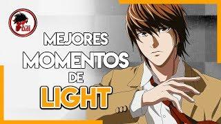Death Note: Los MEJORES MOMENTOS de LIGHT YAGAMI