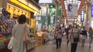 大阪の本町から阿倍野までの長ーい商店街をただ歩く Just walking in Osaka Minami Long Shopping Street