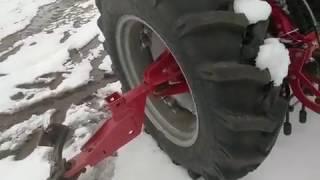 Модернизация сеялки СЗ-5.4 Астра Элворти (растяжки колеса)