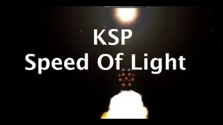 What Does It Take To Reach Lightspeed In Kerbal Space Program? thumbnail