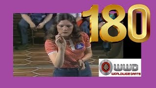 First Ever Televised Ladies 180 - Sandra Gibb
