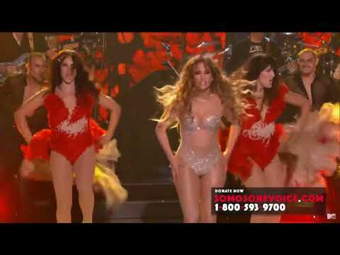 JENNIFER LOPEZ  -  We Are One Voice   SOMOƧ LIVE