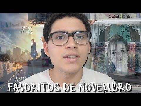 FAVORITOS DO MÊS  NOVEMBRO