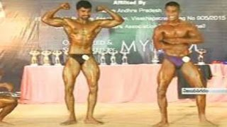 Mr. Andhra Body Building Championship Competition || Vizianagaram - Watch Exclusive