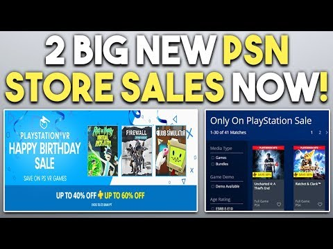 TWO New BIG PSN Store Sales! A TON of EPIC PS4 Game DEALS