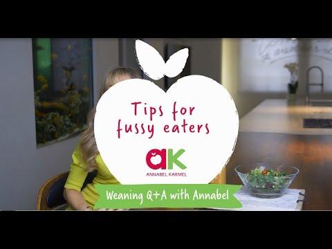 Annabel Karmel's Tips For Fussy Eaters