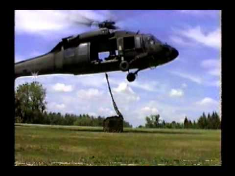 Sling Load Operations with a Blackhawk