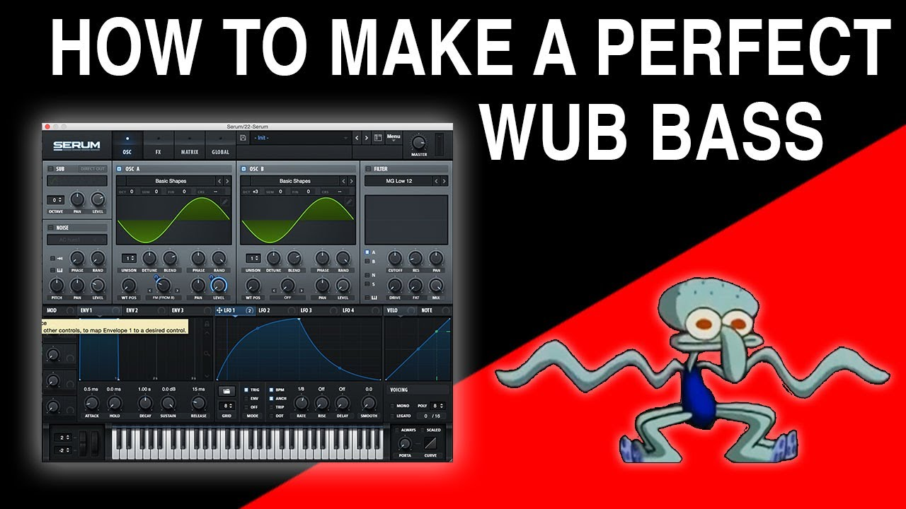 Download How To Make Perfect WUB Bass (Sound Design)