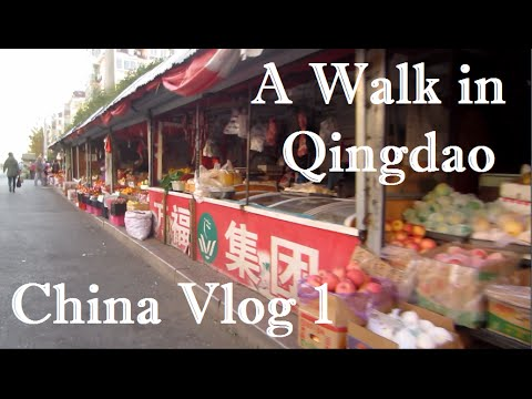 A Walk in Qingdao | China Vlog 1