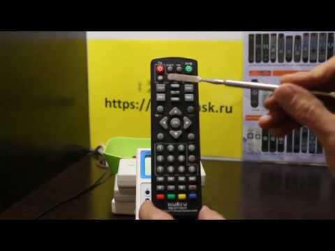Настройка Huayu RM-D1155+5 DVB-T2+TV с обучением под TV универсальный для цифровых приставок