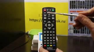 Налаштування Huayu RM-D1155+5 DVB-T2+TV з навчанням під TV універсальний для цифрових приставок