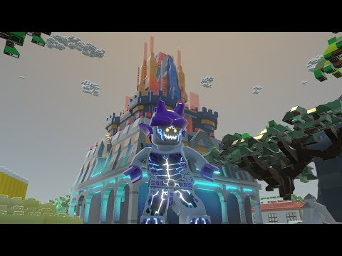 LEGO Worlds - New LEGO Nexo Knights castle in my LEGO City